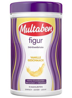 Протеиновый коктейль Multaben со вкусом ванили, 430 г