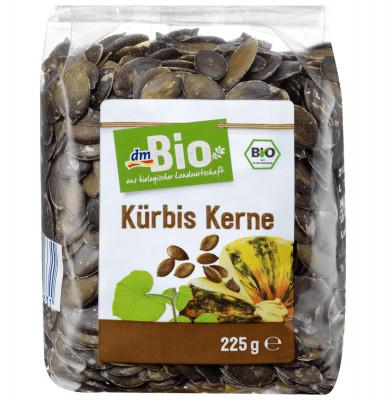 Pumpkin seeds dmBio, 225 gr