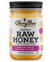 Мед с цветками белого клевера GloryBee