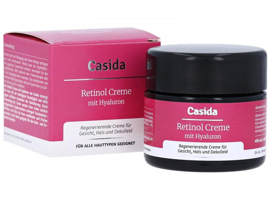 Антивозрастной крем с ретинолом и гиалуроновой кислотой Casida, 50 мл