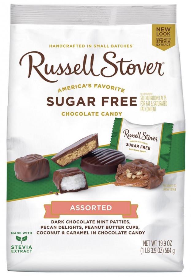 Шоколадные конфеты без сахара Russell Stover