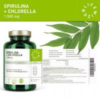 Spirulina + Chlorella LifeWize, 180 Kapseln