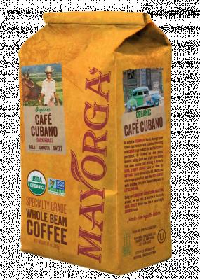 Кофе в зернах с Кубы Mayorga Organics, 900 гр.