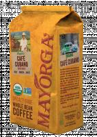 Mayorga Organics Café Cubano whole bean coffee, 2 lb