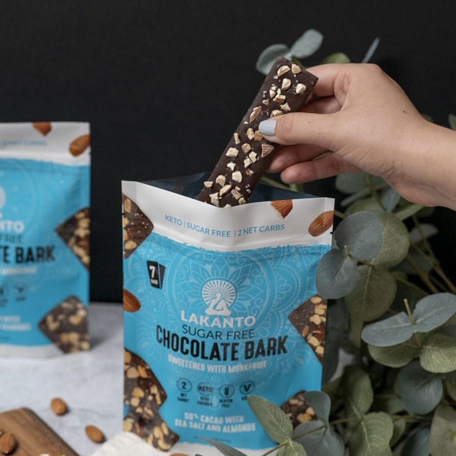 Sugar-Free Chocolate Bark Lakanto