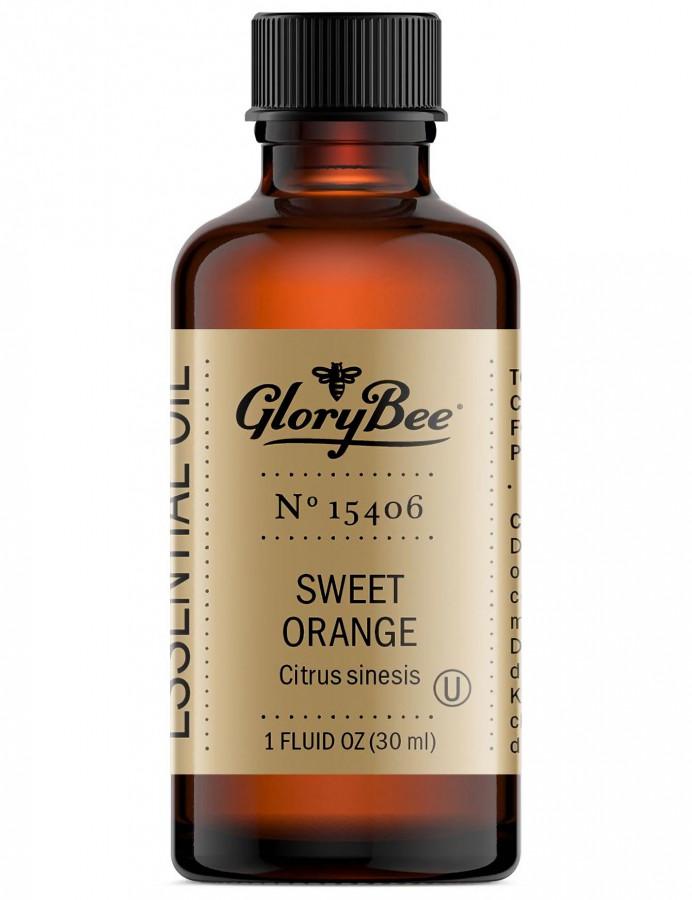 Эфирное масло сладкого апельсина GloryBee, 30 мл
