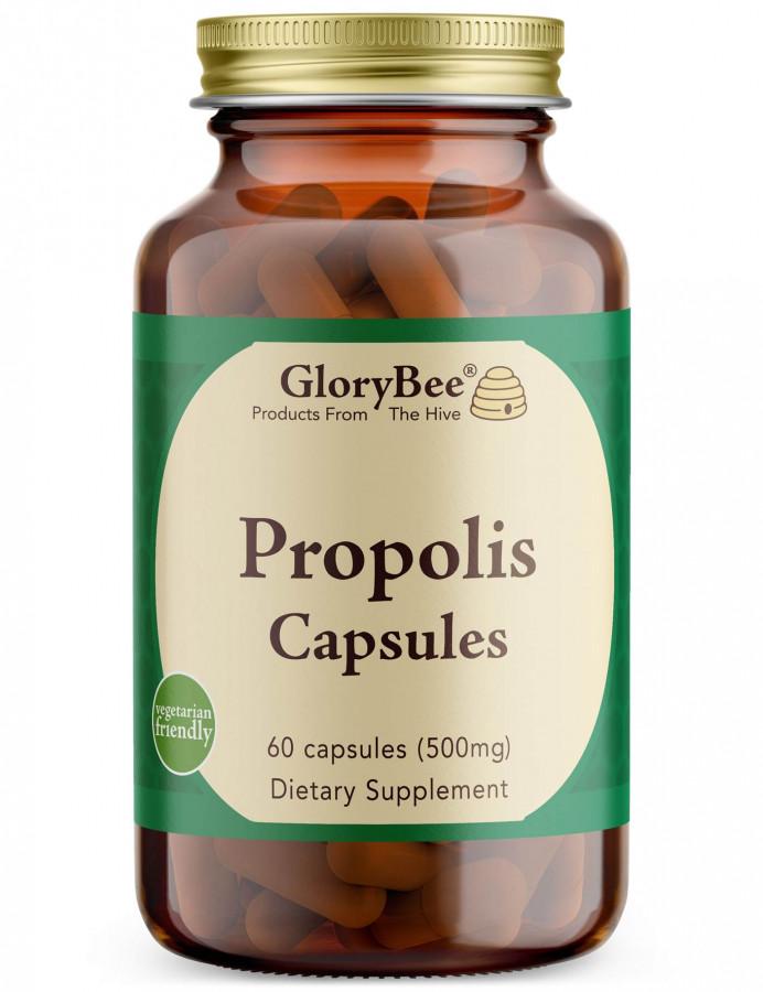 Vegetarian Propolis GloryBee, 60 Capsules