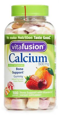 Vitafusion Кальций и витамин D3, 100 жевательных таблеток