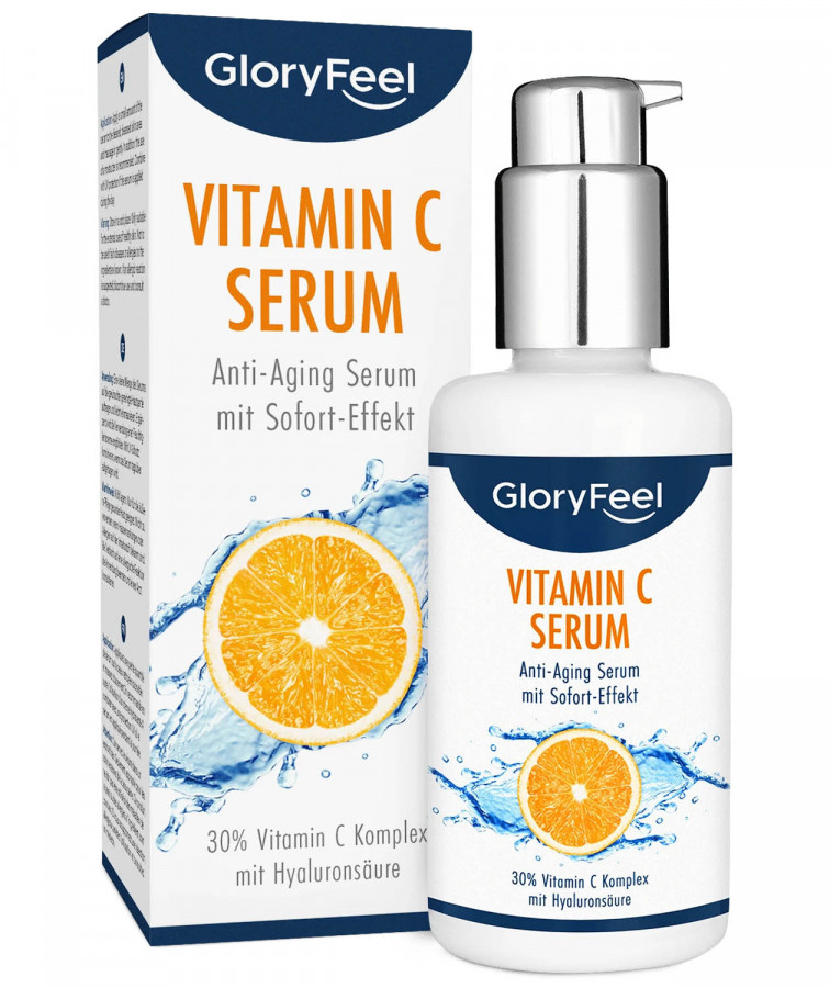 Сыворотка с витамином C 30% GloryFeel, 100 мл