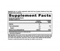 Vitamin D₃ 3000 IU Vitafusion, 210 Adult Gummies