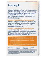 Vitamin D3 7000 IU tetesept,12 tablets
