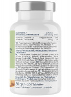 Vitamin D3 K2 GloryFeel, 200 Tabletten
