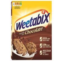 Цельнозерновые шоколадные хлопья Weetabix, 500 г