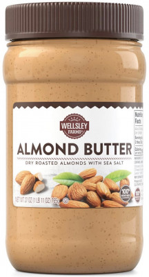 Wellsley Farms Almond Butter with Sea Salt