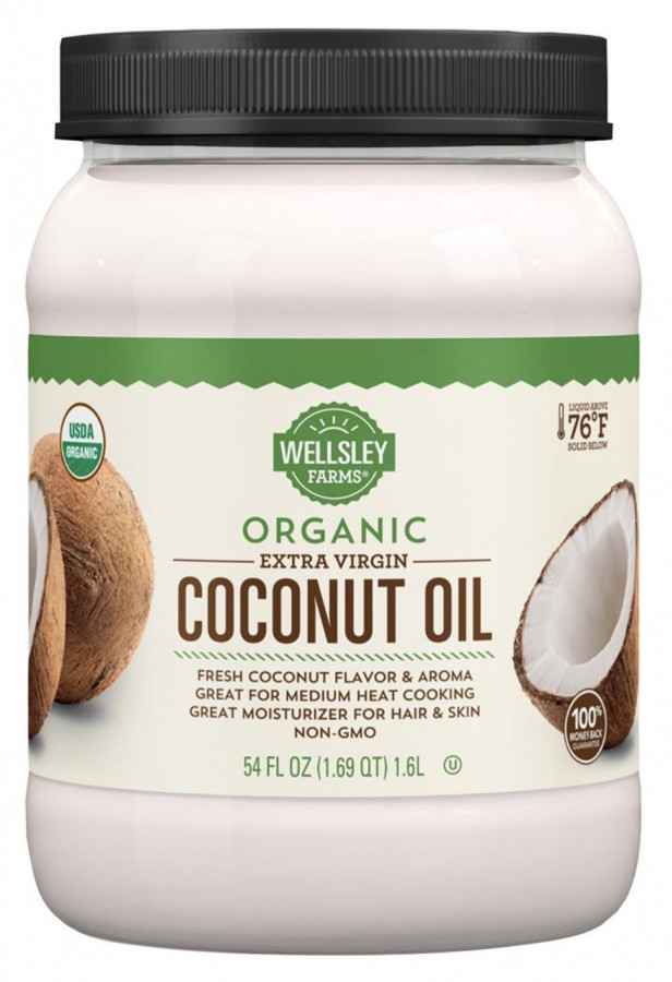 Wellsley Farms Organic Extra Virgin Coconut Oil