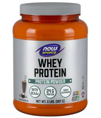 Сывороточный протеин со сливочно-шоколадным вкусом NOW Foods, 907 г