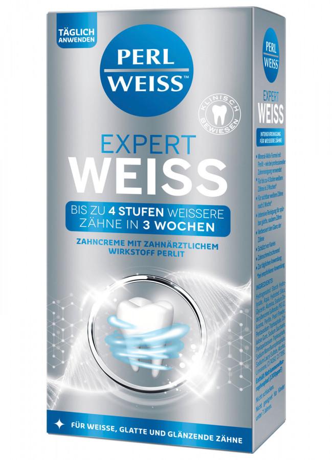 """Отбеливающая зубная паста """"Экспертная белизна"""" Perlweiss, 50 мл"""