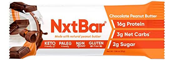 NxtBar Protein Bar Chocolate Peanut Butter