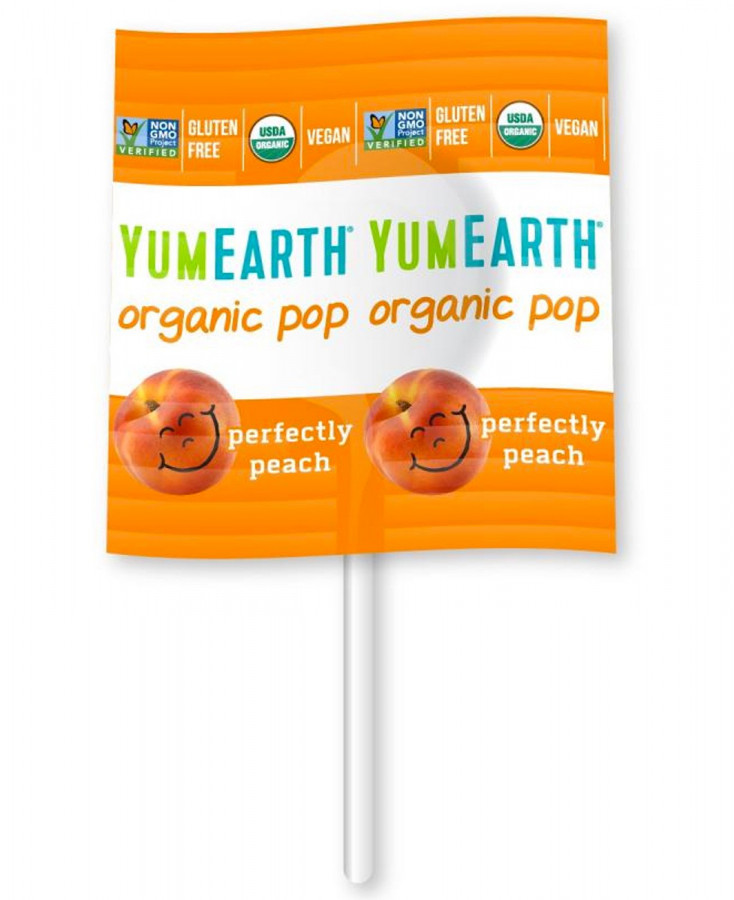 YumEarth Single Lolly Pop, 1 ct