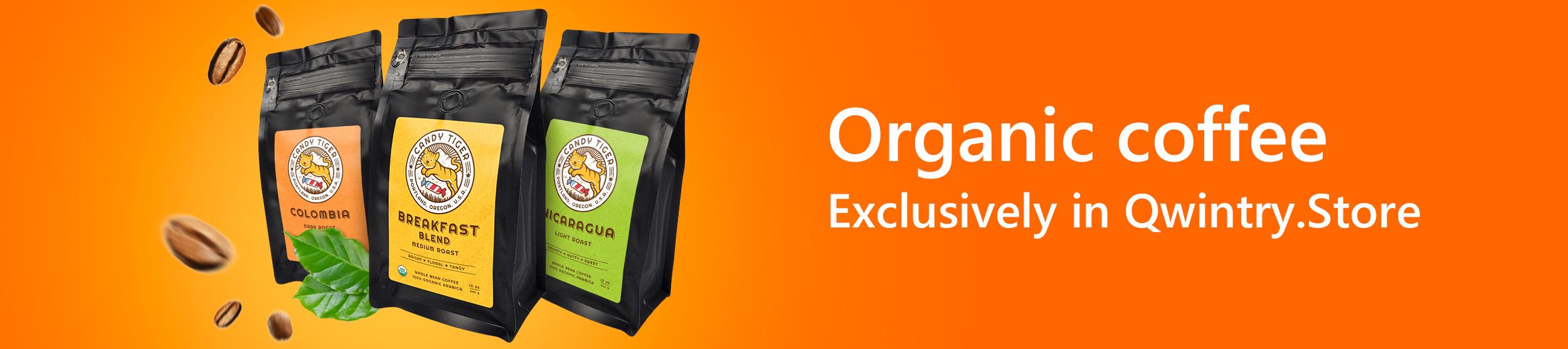 Organic coffee Candy Tiger